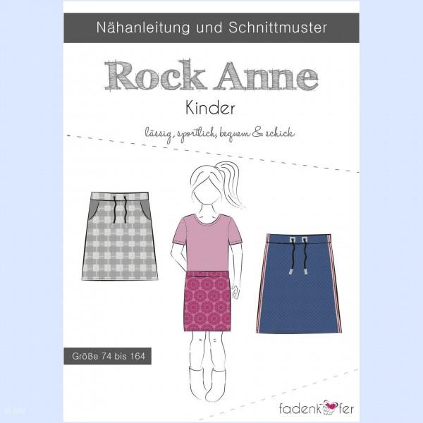 "Snitmønster nederdel ""Anne"" Kids str 74 - 164"