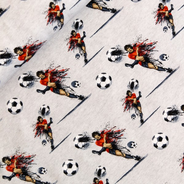 """Bomuldsjersey """"Fodboldspiller"""" fra Fräulein von..."""