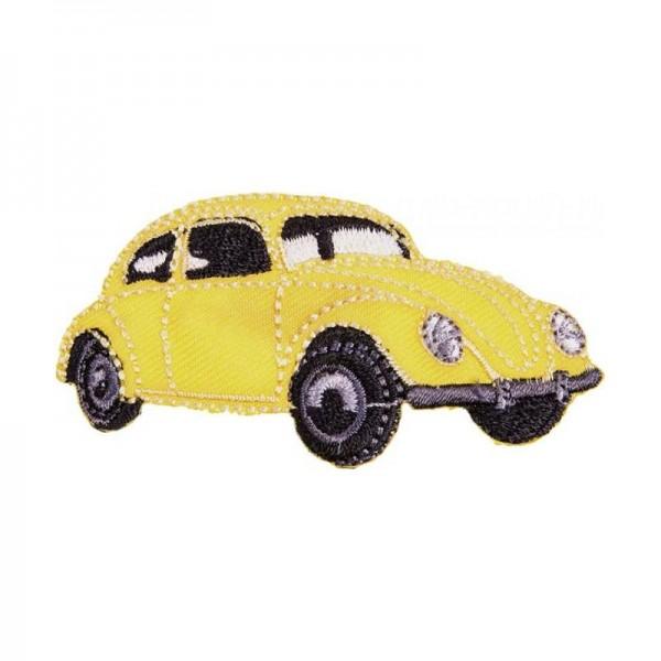 """Symærke """"VW Käfer gul"""""""