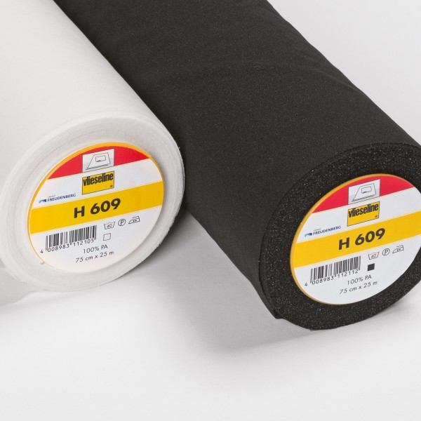 Vlieseline H 609 sort eller hvid