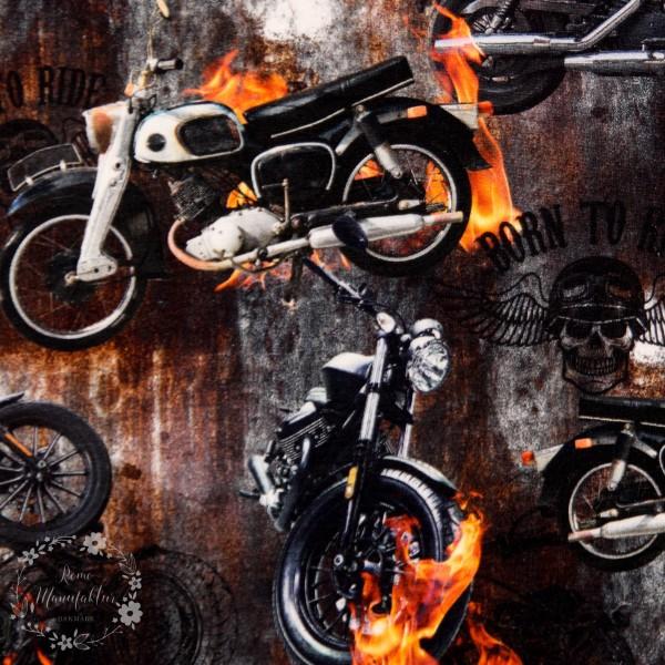 """Bomuldsjersey """"Motorcykel"""""""