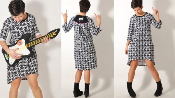 Snitmønster LeniPePunkt 91 sweater og kjole str...