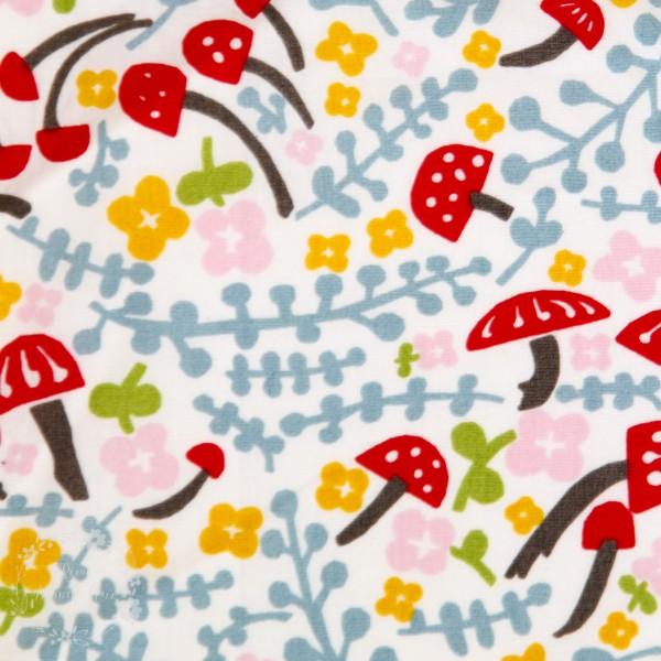 """BIO-Bomuld """"Folkland"""" kb-05 fra Birch Fabrics"""