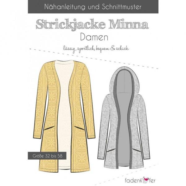 "Snitmønster Dame-Jakke ""Minna"" str. 32 - 58"