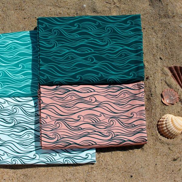 """Bomulds-Jersey kollektion """"Waves"""" by Käselotti"""