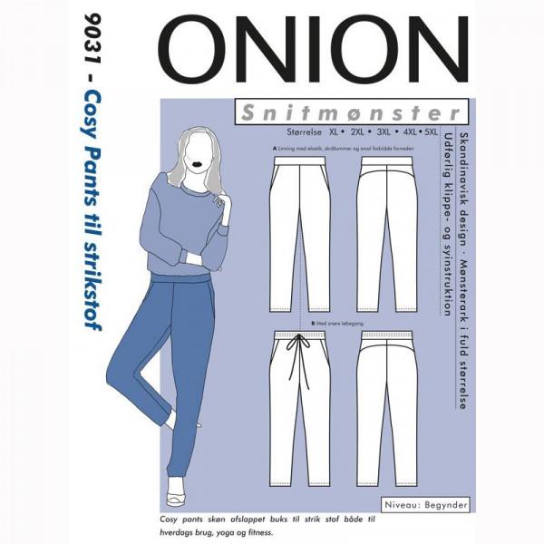 "Snitmønster Onion 9031 ""Cosy Pants til..."