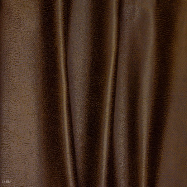 Læderimitation brun
