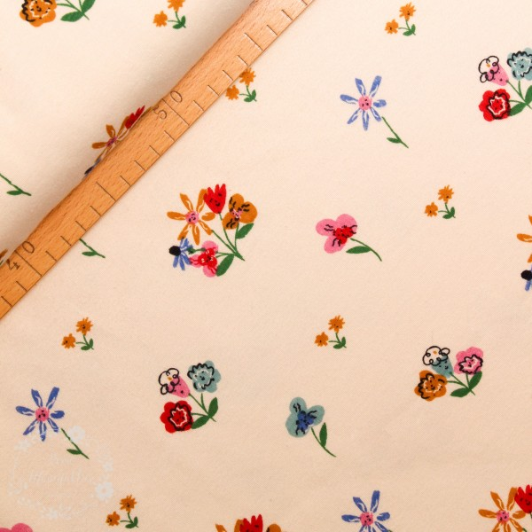 "BIO-Interlock-Bomuldsjersey ""Wonderland"" kei42 fra Birch Fabrics"