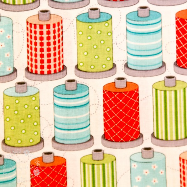 "Bomuld ""Sewing Room - thread"" by Amanda Murphy"
