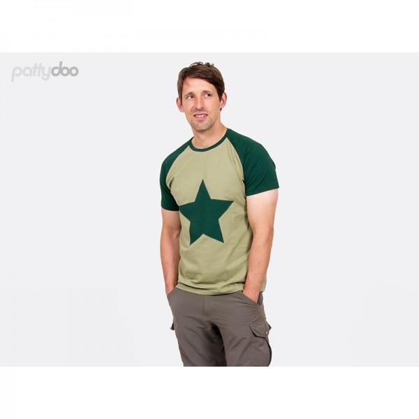 "Snitmønster Pattydoo Herre-Shirt ""Tom"" str S - XXXL"