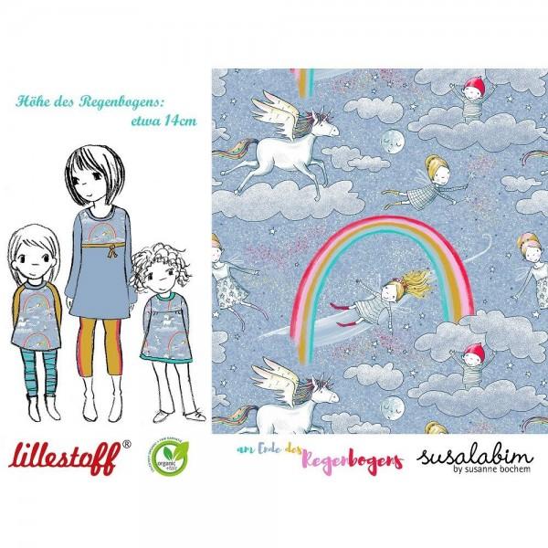 """BIO-Bomuldsjersey """"Am Ende des Regenbogens"""" by SUSAlabim"""