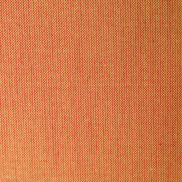 Bomuld ensfarvet orange