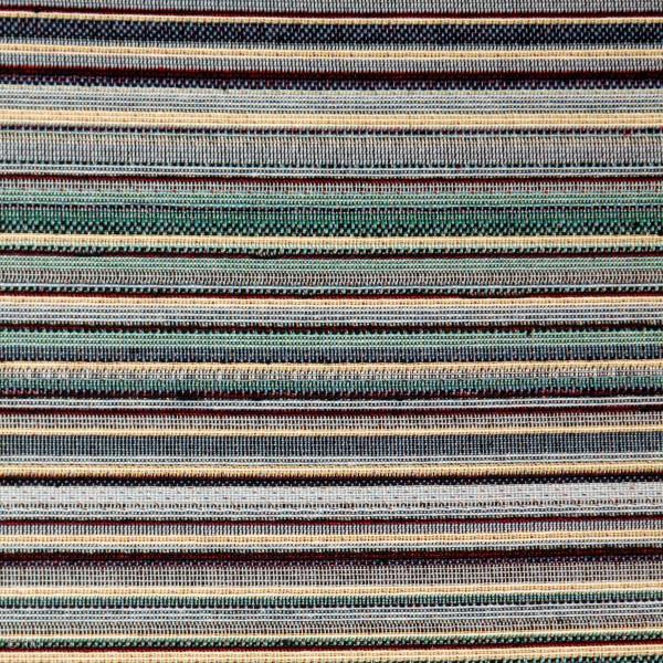 Gobelin med striber blå-grøn