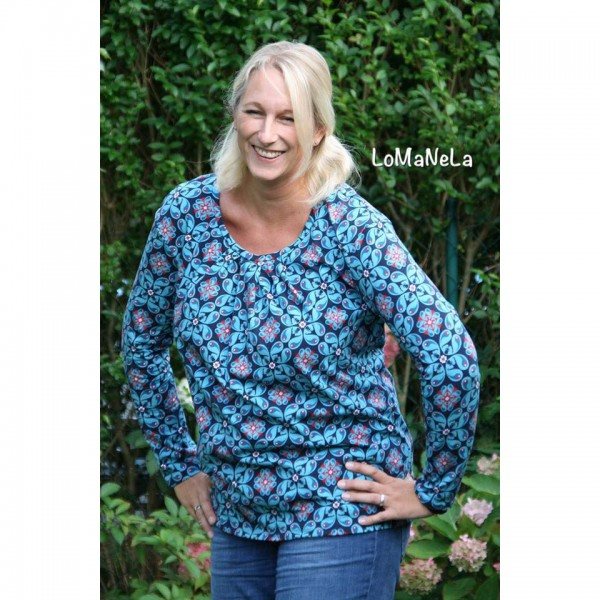 "Snitmønster Milauna Shirt ""Lady Leana"" str 32 - 46"