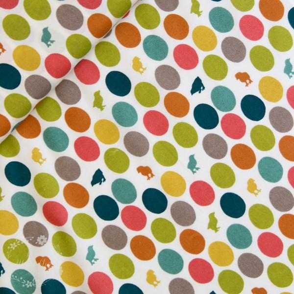 """BIO-Bomuld """"Farm Fresh"""" ff08 fra Birch Fabrics"""