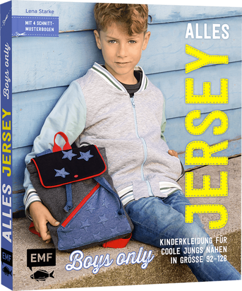 "Bog ""Alles Jersey - Boys only"" str 92 - 128"