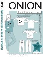 Snitmønster Onion raglanæmetop&buks 6018