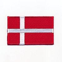 """""""Motiv Flag Danmark"""" stor"""