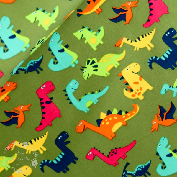 "Softshell ""Dino"" grøn"