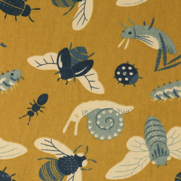 "BIO-Canvas ""Acron Trail"" fra Birch Fabrics"