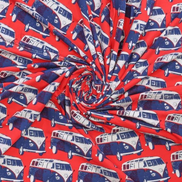 "French Terry kollektion ""Retro Van"""