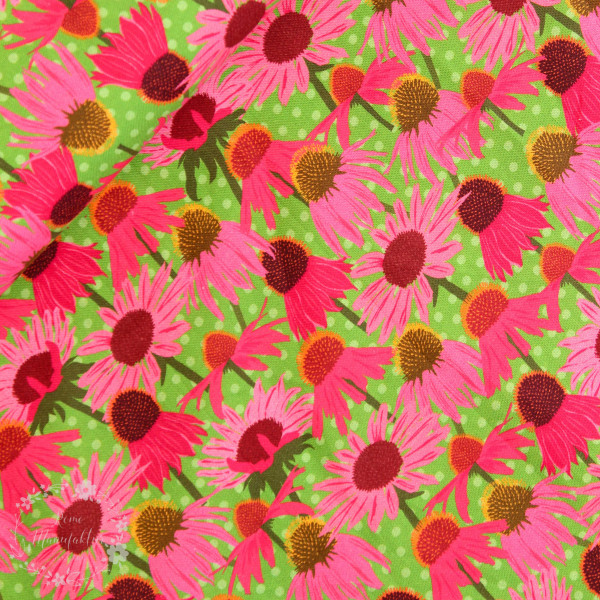 """Bomuld """"Wild about Flowers"""" 20-045"""