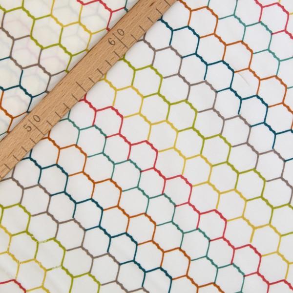 """BIO-Bomuld """"Farm Fresh"""" ff12 fra Birch Fabrics"""