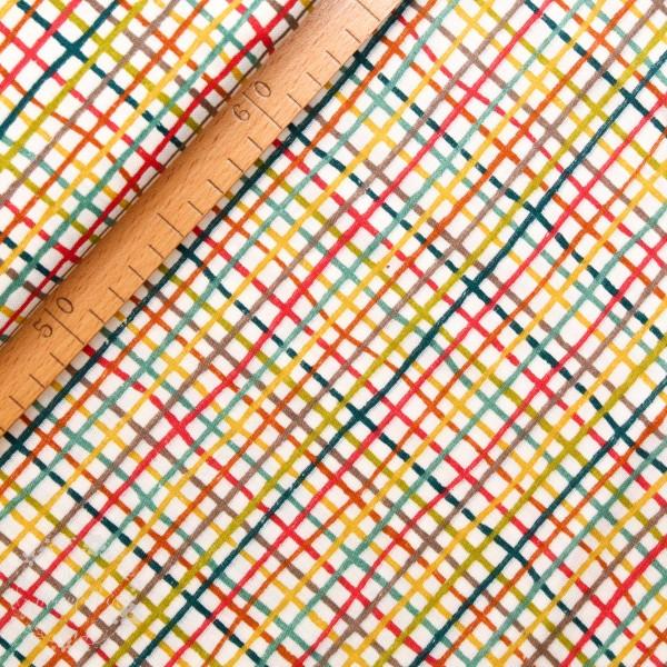 "BIO-Double Gauze ""Farm Fresh kombi"" fra Birch Fabrics"