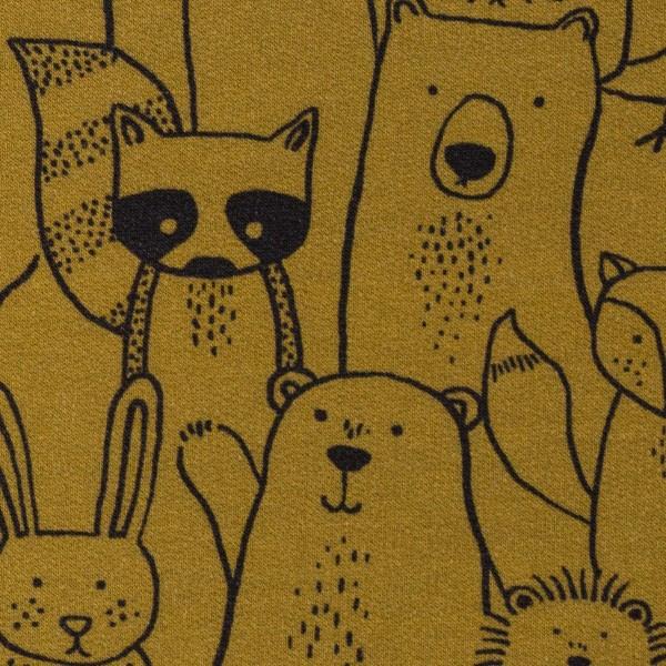"""Isoli """"Mini Forest"""" Skovdyr gul/brun"""