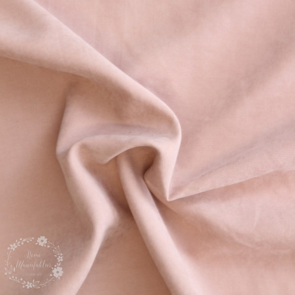 Fastvævet Cupro lyserød
