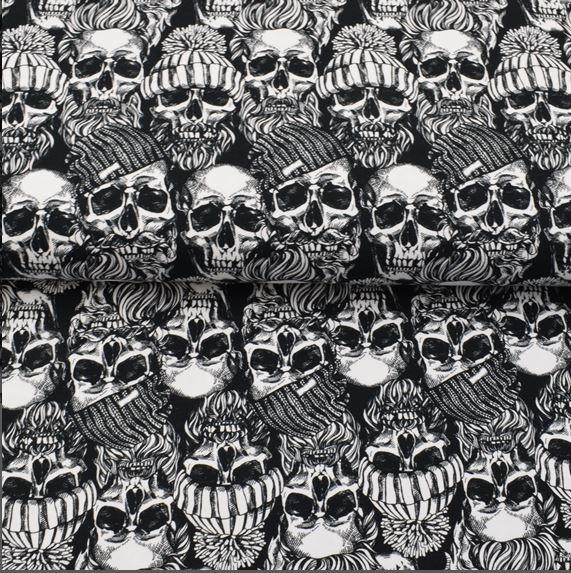 """French Terry """"Skulls"""""""