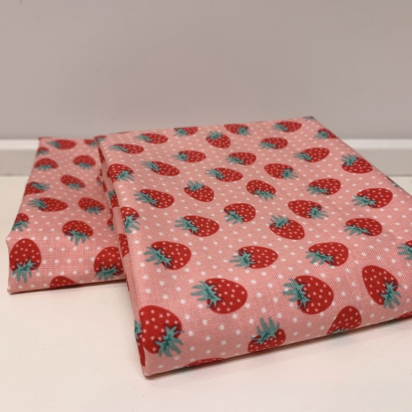 "Fat Quarter ""The Shabby Strawberry"" by Emily..."