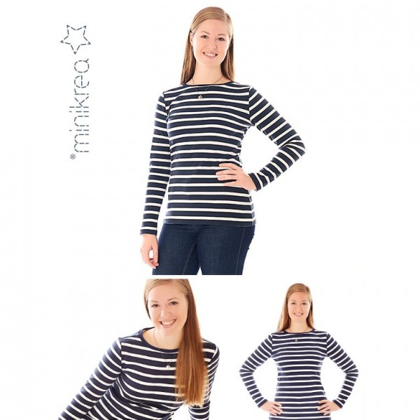 "MiniKrea Snitmønster 70227 ""T-Shirt"" str 34 - 50"