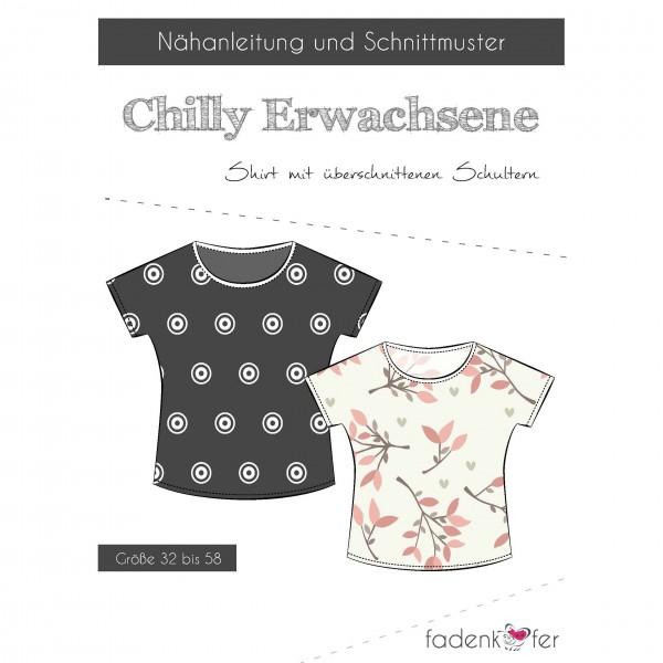 "Snitmønster Shirt ""Chilly"" Dame str. 32 - 58"